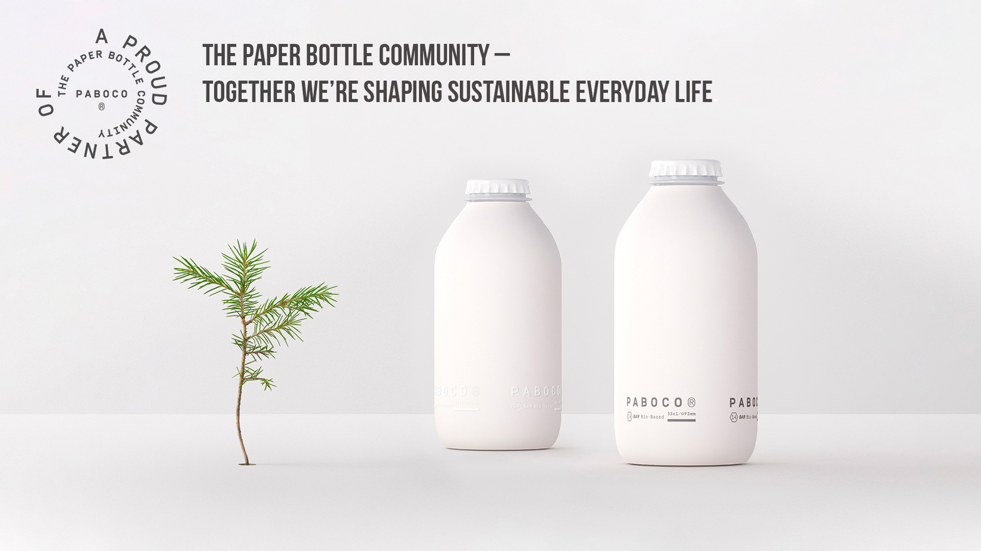 Revolutionary innovation: Teknos cooperates with major brands in developing a recyclable paper bottle