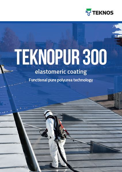 Pure Polyurea technology - TEKNOPUR 300 elastomeric coating
