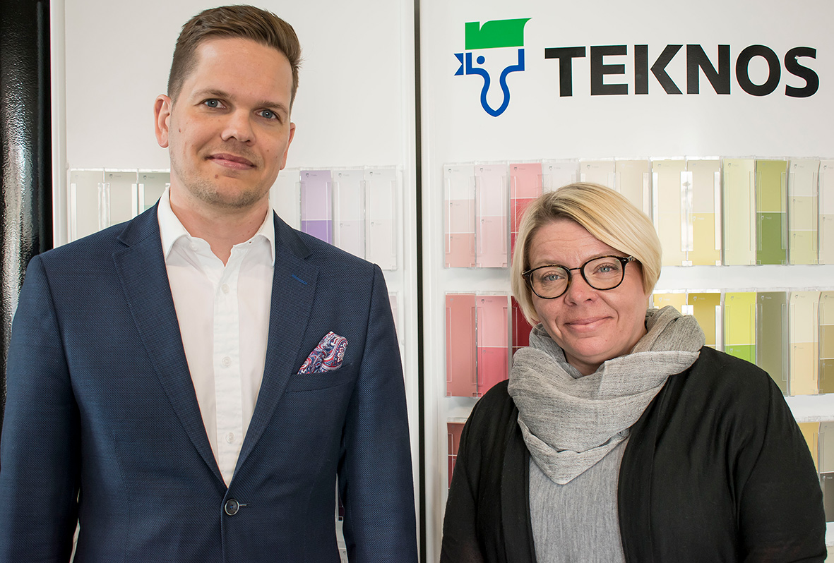 Teknos coatings for packaging Tuomas and Marja
