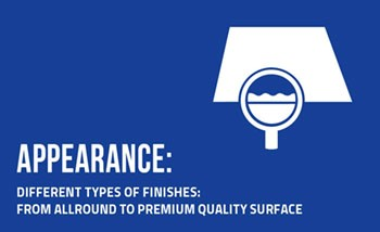 Appearance_Finishes from allround to premium quality